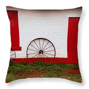 Wheels Ready  Throw Pillow