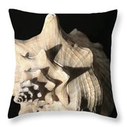 Whelk Throw Pillow