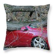When A Tree Falls Throw Pillow