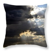 When All Seems Dark Throw Pillow