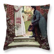 When All The World Seemed Young Throw Pillow