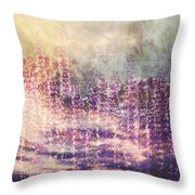 When Earth And Sky Collide Throw Pillow