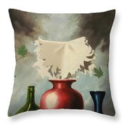 When Evening Falls Throw Pillow