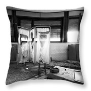 When First Aid Comes To Late - Urban Decay Throw Pillow