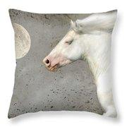When Horses Dream Throw Pillow