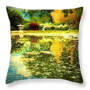 When I Dream Of Spring Throw Pillow