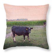 When I Finish My Dinner I'll Deal With You Throw Pillow