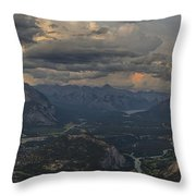 When In Banff Canada Throw Pillow