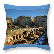When In Greece Throw Pillow