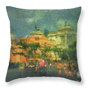 When In Rome 52 - Lasting Impression Throw Pillow