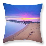 When It Feels Like The World's Gone Mad Throw Pillow
