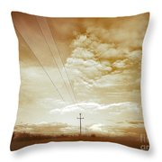 When It Is Cold Outside Throw Pillow
