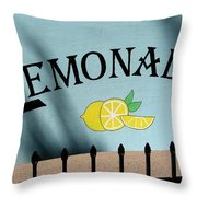 When Life Gives You Lemons Throw Pillow
