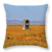 When Nature Calls Throw Pillow