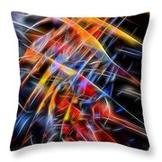 When Prayer And Worship Embrace Throw Pillow