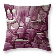 When Red Rocks Weep  Throw Pillow