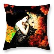 When Sleep Begins To Engulf.... Throw Pillow