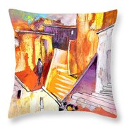 When The Cat Is Away The Mice Will Dance Throw Pillow