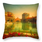 When The City Dares To Dream 2 Throw Pillow