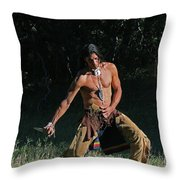 When The Fight Comes Throw Pillow