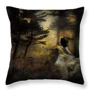 When The Forest Calls Throw Pillow