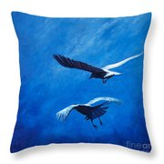 When The Light Comes Throw Pillow