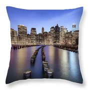 When The Lights Go On Throw Pillow