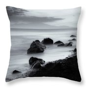 When The Sun Goes Down Throw Pillow
