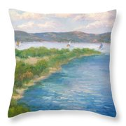 When There Was Water Throw Pillow