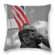 When They Fell They Stood Throw Pillow