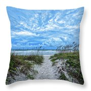 When We Had Dunes Throw Pillow