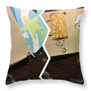 When You Are Smiling  Throw Pillow
