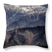 When You Climb Up A High Mountain, You'll See A Myriad Of Mountain Which You Need To Climb Again Throw Pillow