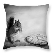When You Lose Your Nuts There Is Always Chips Throw Pillow