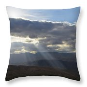 When Your Light Shines Throw Pillow