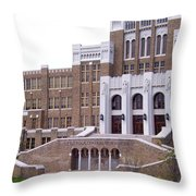Where 9 Walked Throw Pillow