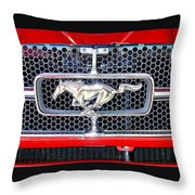 Where A Pony Belongs Throw Pillow