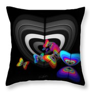 Where Angels Fear To Tread Throw Pillow