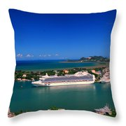 Where Are My People Throw Pillow