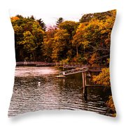 Where Are The Boats Throw Pillow