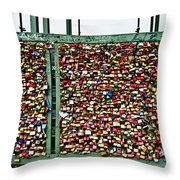 Where Are The Keys? Throw Pillow