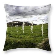 Where Are The Sheep? Throw Pillow