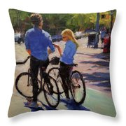 Where Are We? Throw Pillow