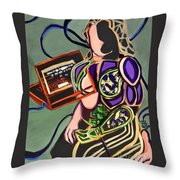Where Does It End? Throw Pillow