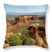 Where Eagles Soar Throw Pillow