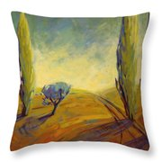 Where Evening Begins 2 Throw Pillow