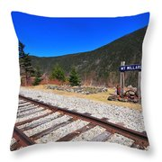 Where Hattie Lived  Throw Pillow