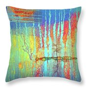 Where Have All The Trees Gone? Throw Pillow