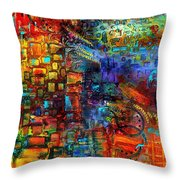 Where Healing Waters Flow Throw Pillow
