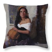 Where Is That Living Water? Throw Pillow